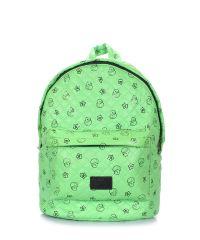 Рюкзак стеганый с уточками POOLPARTY backpack-theone-green-ducks
