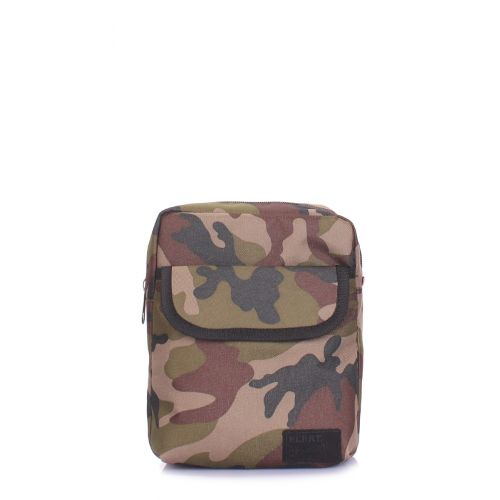 Мужская сумка на плечо POOLPARTY extreme-camo