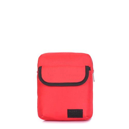 Мужская сумка на плечо POOLPARTY extreme-oxford-red