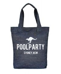 Коттоновая сумка POOLPARTY pool1-jeans