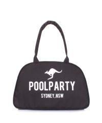 Городская сумка-саквояж POOLPARTY pool-16-oxford-black