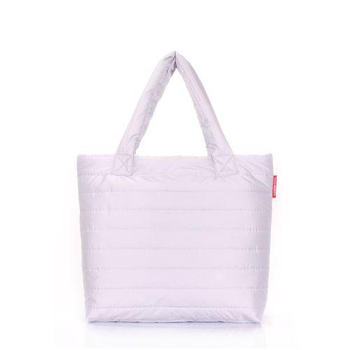 Дутая сумка POOLPARTY pp4-grey-new
