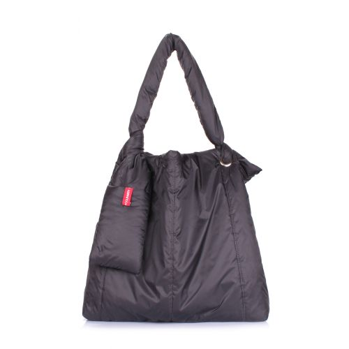 Дутая сумка POOLPARTY Zefir zefir-black