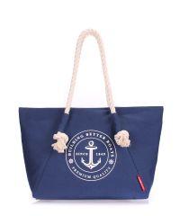 Женская сумка PoolParty pool-breeze-darkblue синяя
