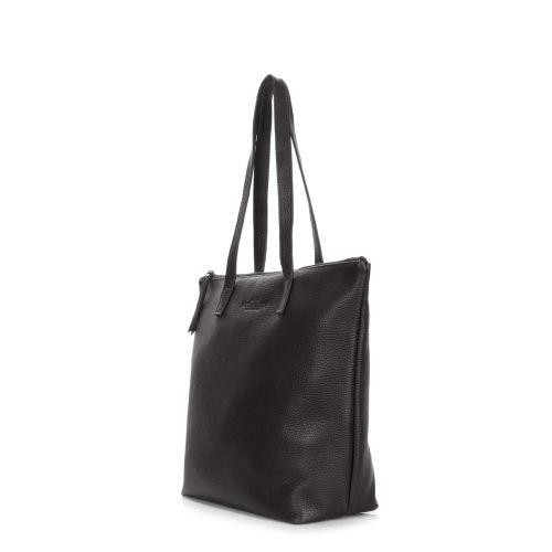 205e8f641e04 Кожаная сумка POOLPARTY secret-black черная купить от производителя  недорого в Киеве | Интернет-магазин FASHIONTRENDS