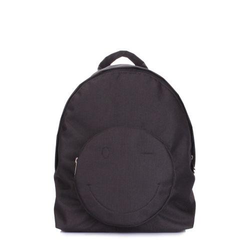 Рюкзак POOLPARTY smile-backpack-black черный
