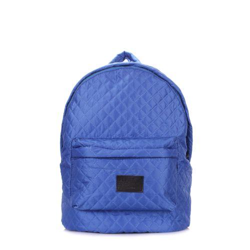 Рюкзак стеганый PoolParty backpack-theone-brightblue синий