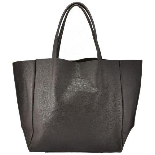 Женская кожаная сумка Poolparty soho-brown коричневая