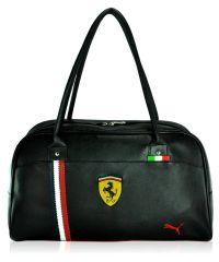 Спортивная сумка Puma Ferrari New черная