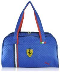 Спортивная сумка стеганая New синяя