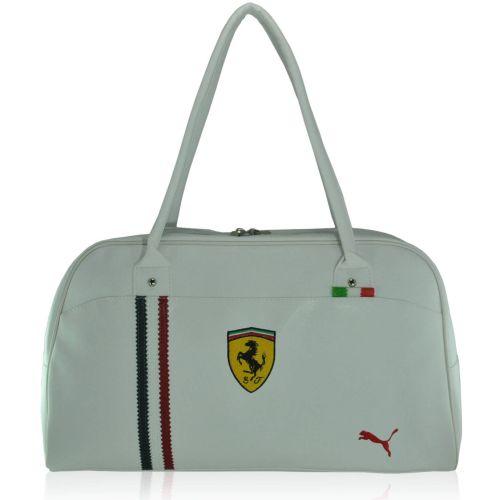 Спортивная сумка Puma Ferrari New белая