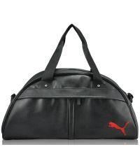 Спортивная сумка Bogen черная с красным