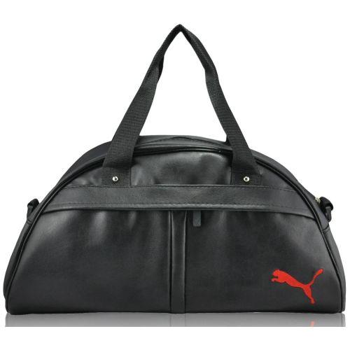 Спортивная сумка Puma Bogen черная с красным