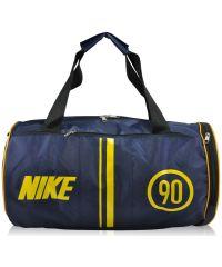Спортивная сумка Nike Tuba синий с желтым