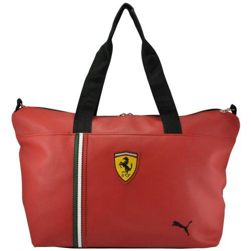 Спортивная сумка Puma Ferrari красная