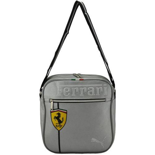 Сумка через плечо Puma Ferrari серая