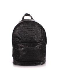 Рюкзак молодежный PoolParty backpack-croco-black