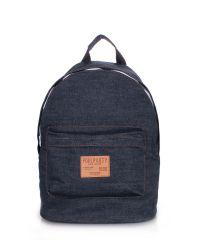 Рюкзак джинсовый PoolParty backpack-jeans