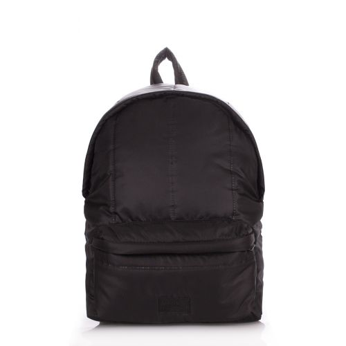 Рюкзак дутый PoolParty backpack-puffy-black