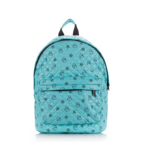 Рюкзак стеграный PoolParty backpack-theone-blue-ducks