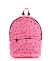 Рюкзак стеганый PoolParty backpack-theone-pink-ducks