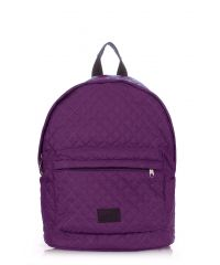 Рюкзак стеграный PoolParty backpack-theone-violet