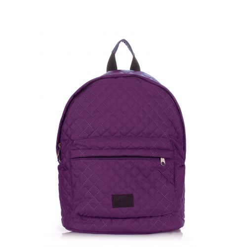Рюкзак стеграный PoolParty backpack-theone-violet