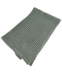 Вязаный шарф 18533 серый