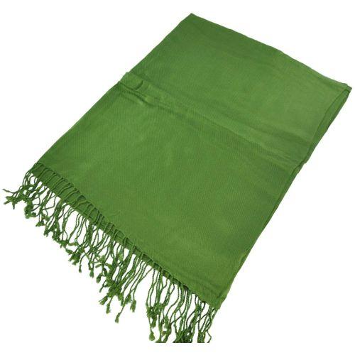 Палантин 42067 зеленый