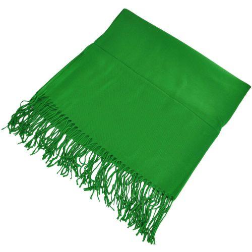 Палантин 12081 зеленый