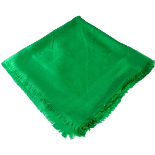 Шаль Louis Vuitton зеленая