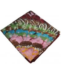 Женский платок 25500 джунгли марсала