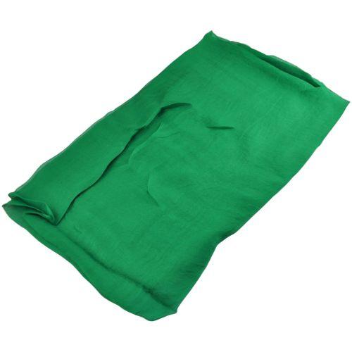 Шелковый шарф парео 29201 зеленый
