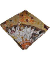 Женский платок H 25407 племя бежевый