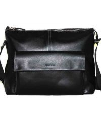 Мужской кожаный портфель MK20/1Kaz1 чёрный