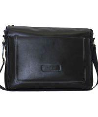 Мужской кожаный портфель MK33Кaz1 чёрный