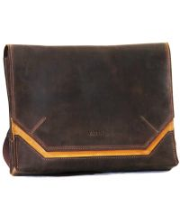 Мужской кожаный портфель Mk21Kr450.190 коричневый