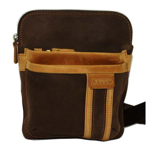 Мужская кожаная сумка Mk-54 Kr450.190 коричневая