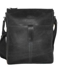 Мужская кожаная сумка MK18Kr670 чёрная