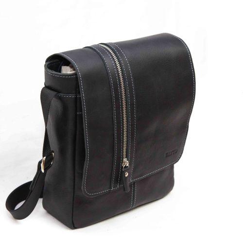 Мужская кожаная сумка MK28Kr670 чёрная