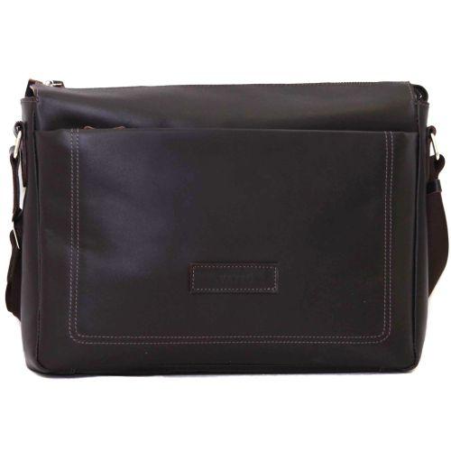 Мужской кожаный портфель MK33Кaz400 коричневый