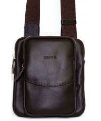 Мужская кожаная сумка MK12Kaz400 коричневая