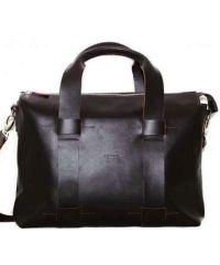 Мужской кожаный портфель MK22Kaz400 коричневый