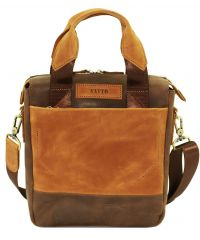 Мужская кожаная сумка Mk-33.2Kr450.190 коричневая