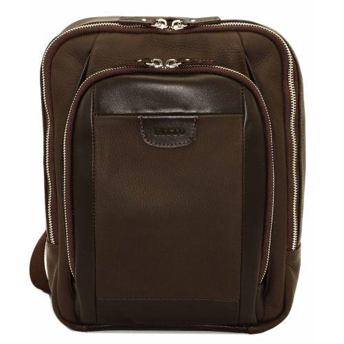 Мужской кожаный рюказк Mk-47FL7Kаz400 коричневый
