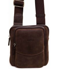 Мужская кожаная сумка MK12Кr450 коричневая