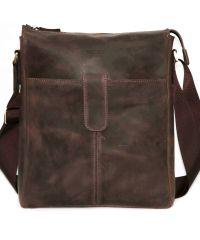 Мужская кожаная сумка Mk18Kr450 коричневая