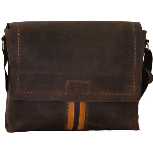 Мужской кожаный портфель MK34Kr450 коричневый