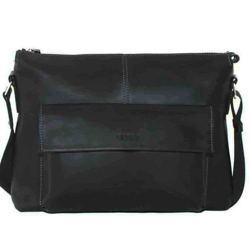 Мужской кожаный портфель MK20/1Kr670 чёрный