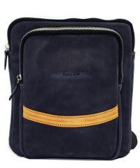 Мужская кожаная сумка Mk-12.2 Kr600.190 синяя
